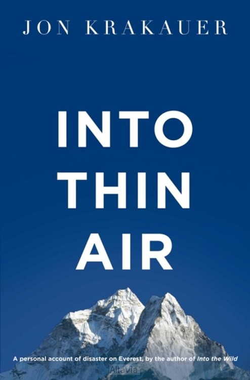 into thin air / mount everest 1997