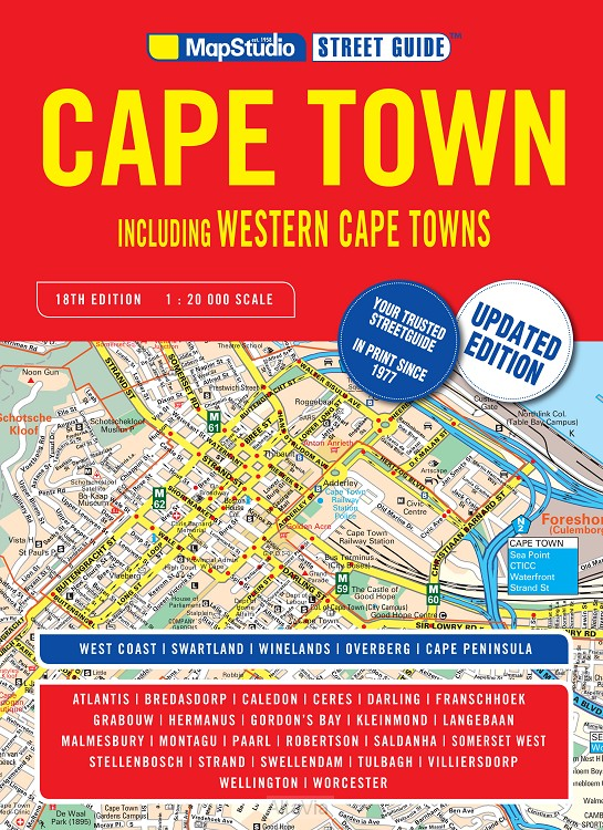 cape town atlas  1/20,000 2016
