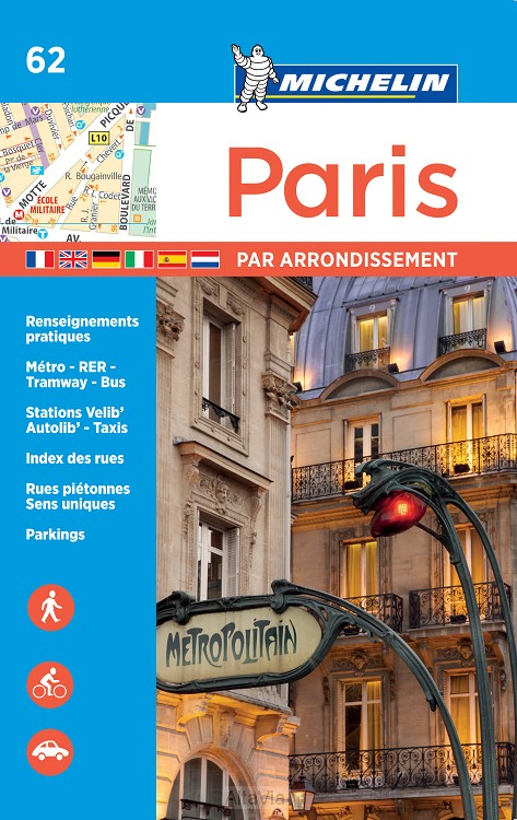parijs stratenatlas mini