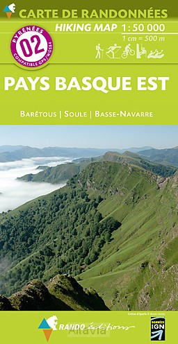 pays basque est OOST 02 1/50,000