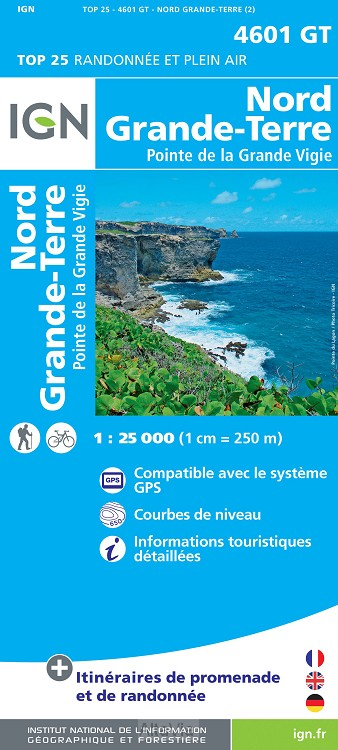 Guadeloupe N Grande-Terre 1/25 000 4601