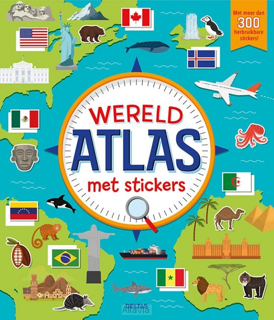 atlas stickerboek  KINDEREN 2019